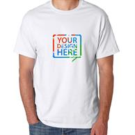 Hanes Heaveyweight Full Color White Tees