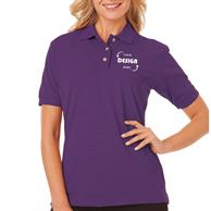 Blue Generation Ladies Short Sleeve Polo Shirts