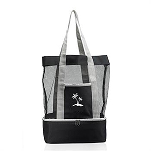 Mesh Tote Bag w/ Cooler