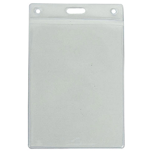 "2.25"" W x 3.5"" H Vertical Badge Holder"