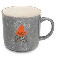 13 oz. Marble Campfire Custom Coffee Mugs