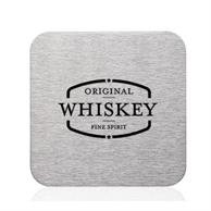 Carson Stainless Steel Square Coasters