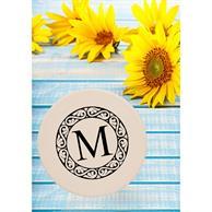 4 In. Round Personalized Ceramic Coasters