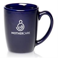 12 oz. Curved Java Custom Coffee Mugs