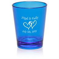 1.5 oz. Translucent Plastic Shot Glasses
