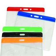 """3"""" X 4"""" Color Coded Badge Holder"""
