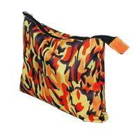 """Large Cosmetics Pouches 10.75""""X8.25"""" Cotton Full Color Pouch"""