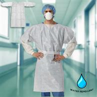 Antibacterial Isolation Gown Disposable  Medical Safety Gown