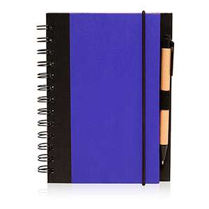 "5"" x 7"" Sprial Notebook w/ Matching Pen"