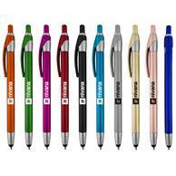 Benson Sm Stylus Metallic Click Pen