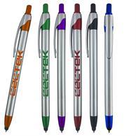 Slim Jen Stylus Silver Pen