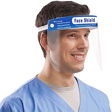 Protective Face Shield Disposable Safety Full Face Shields