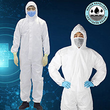 Economy Isolation Suit Protective Non-Woven Safety Gown