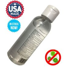 IN STOCK USA MADE 2 oz/ 60ml Hand Sanitizer w/ Flip Cap FDA