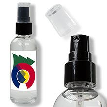 3.4 oz USA Made Hand Sanitizer Spray w/ Custom Imprint FDA