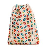 Utility Cotton Pouches 12cm x16.5cm Full color Cosmetic Bag