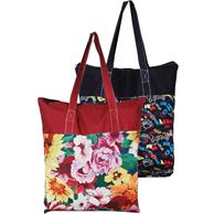 """Grocery Cotton bags 15""""x15""""x3.25""""Gusset Full Color Tote Bag"""