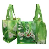 """Convention Bags 8""""x 10""""x 4""""Gusset Full Color Cotton Bag"""