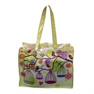 """Shopping Cotton Tote Bags 16""""x 12""""x 6"""" Gusset Full Color Bag"""