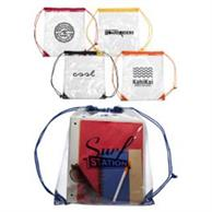 Plastic Drawstring Backpacks