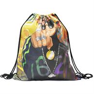 DRAWSTRING BACKPACK WITH FULL COLOR SUBLIMATION CINCH SPORTS BAG