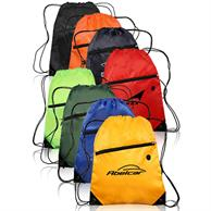 Drawstring Backpacks with Pocket
