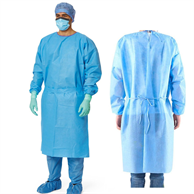 USA Stock Ready Disposable gowns, non woven Isolation Gown