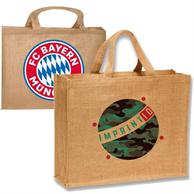Large Jute Tote Bag