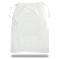 "ECONOMY NON-WOVEN LAUNDRY BAGS 18"" X 24"" DRAWSTRING BAG"
