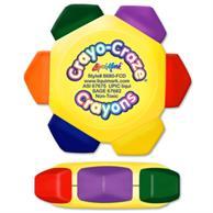 Full Color Craze 6 Color Crayon Wheel
