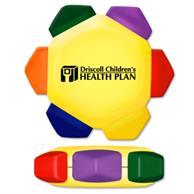 Yellow Craze 6 Color Crayon Wheel