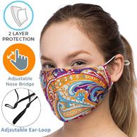Kids 2-Layer Reusable Face Mask