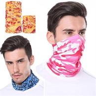 Reusable Face Bandana w/ Custom Imprint Dust Protection Mask