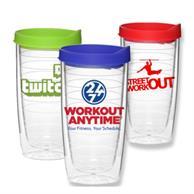 14 Oz Double Wall Acrylic Tumbler W/ Custom Logo Travel Mug