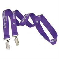 Usa Made Double Ended Lanyard - Polyester