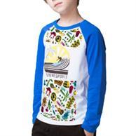 Long Sleeve Kids Round Neck T-Shirts W/ Dye-Sublimation