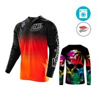 Full Sleeve T-Shirts W/ Edge To Edge Sublimation T-Shirt