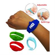 Wristband Hand Sanitizer Dispenser W/ Custom Logo Adjustable