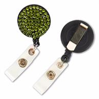 Bling Rhinestone Badge Reels