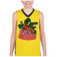 Youth V-Neck Sleeveless W/ Edge To Edge Sublimation Tanks