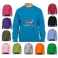 Heavy Blend Long Sleeve Winter Sweatshirts 7.75 oz