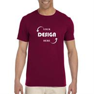 Gildan Softstyle 4.5 Oz 100% Cotton Preshrunk Unisex T-Shirts
