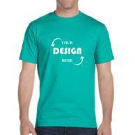 Gildan Dryblend 5.6 oz 50/50 Cotton/ Polyester T-shirt w/ Moisture-wicking