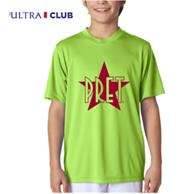 Ultraclub 4 Oz 100% Micro-Polyester Youth Performance T-Shirts