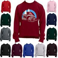 Youth Full Sleeve Crew Winter Sweatshirt 7.75 Oz Boys