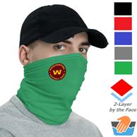 Polyester Neck Gaiter w/ Custom Logo Safety Face Bandana