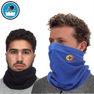 USA Printed Polyester Neck Gaiter w/ Full Color Logo Safety Face Bandana