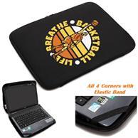 Neoprene Laptop Sleeve w/ Zipper Closure & Padded Interior