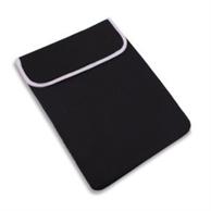 Dye-Sublimation Neoprene Laptop Sleeve w/ Velcro Flip Cover