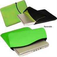 "Reversible Neoprene Laptop Sleeve w/ Custom Imprint 15""x 11"""